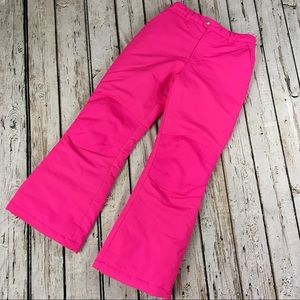 Faded Glory Girl's Snow Pants Pink XL (14-16)